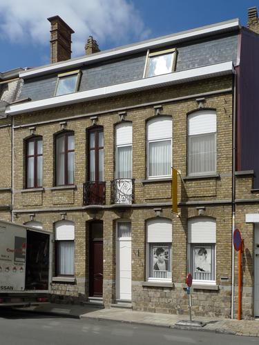 Ieper Slachthuisstraat burgerhuis