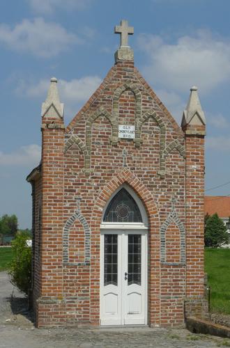 Ieper Poperingseweg zonder nummer Neogotische kapel