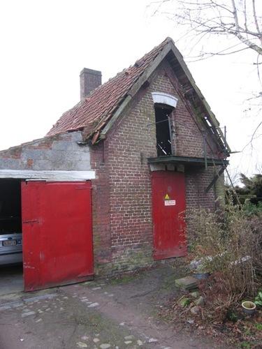 Waregem Blauwpoortstraat 24 bakhuis