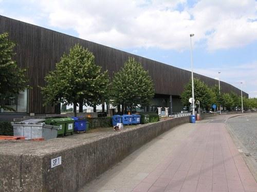 Antwerpen Rijnkaai zonder nummer Hangar 26 straatzijde