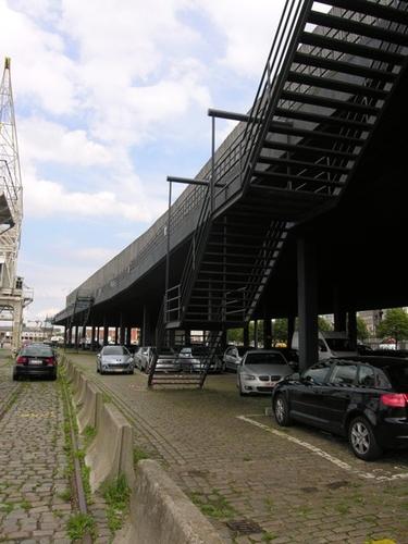 Antwerpen Rijnkaai zonder nummer Afdaken 26-27 Scheldezijde