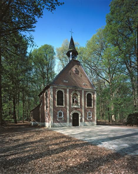 De boskapel van Buggenhout(Oost-Vlaanderen)