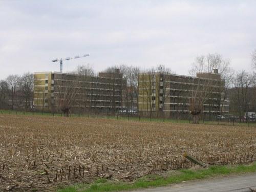Groot-Bijgaarden_zicht op de Reinaertstraat_vanuit de Bekkerzeelweg