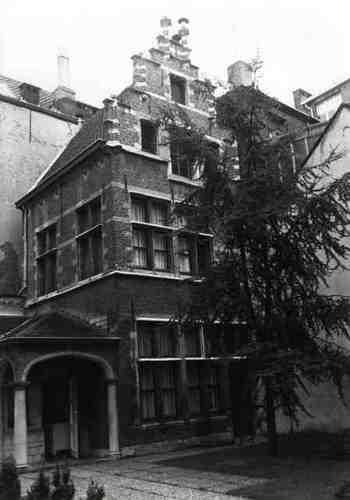 Antwerpen Kolveniersstraat 19 Achtergebouw