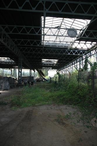 Antwerpen D'Herbouvillekaai afdak 4