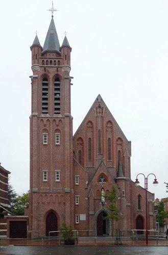 Izegem Roeselaarsestraat 55 Parochiekerk Heilig Hart