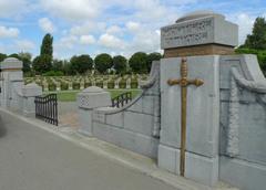 Belgische militaire begraafplaats Ramskapelle