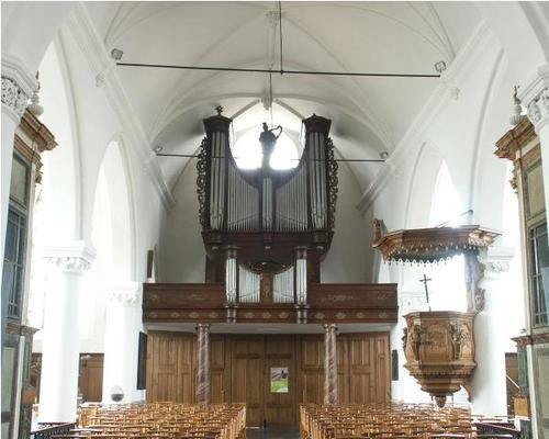 Poperinge Watou Sint-Bavokerk Orgel