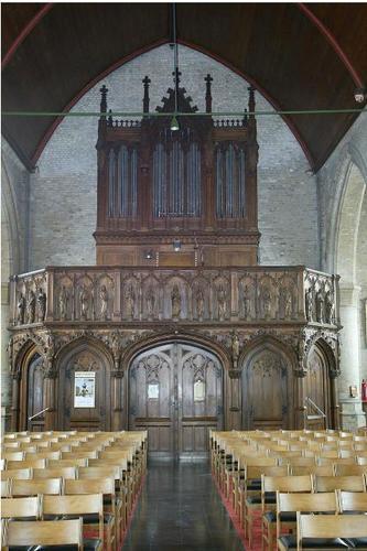 Vleteren_Westvleteren_Sint-Martinuskerk_Orgel
