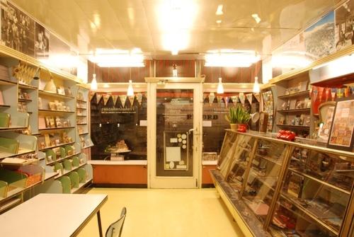 Antwerpen Koningin Astridplein 36 Interieur van de primeurwinkel