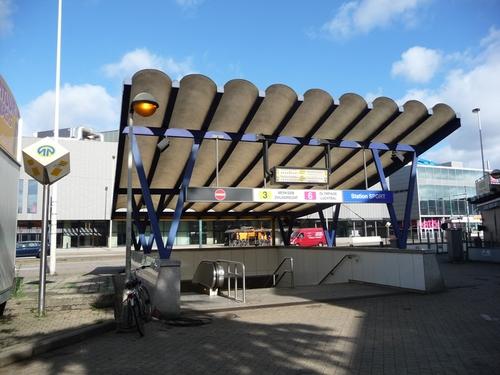 Antwerpen Schijnpoortweg zonder nummer ingang