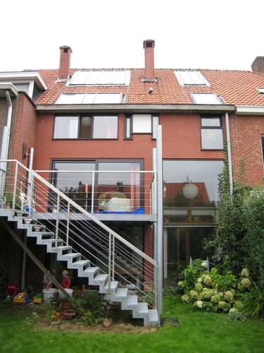 Mortsel Dieseghemlei 110 tuingevel