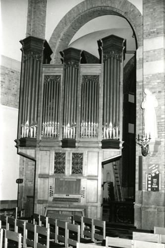 Ieper Sint-Niklaaskerk Orgel