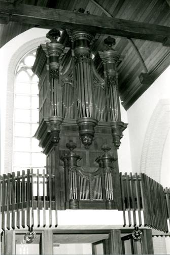 Vleteren Oostvleteren Sint-Amatuskerk Orgel