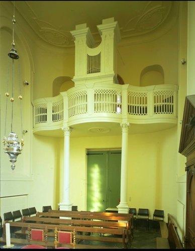 Veurne  Kapel oud Sint-Janshospitaal Orgel