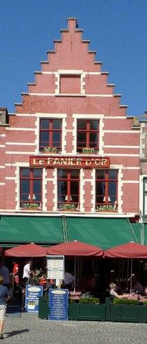 Brugge Markt zonder nummer Het Mandetje