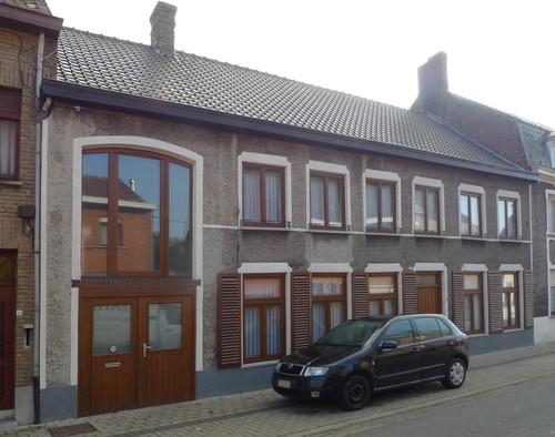 Vleteren Kasteelstraat 46-50 drie dubbelhuizen