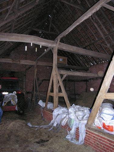 Meerhout 't Steen 4 interieur schuur