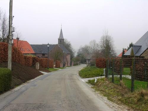 Horebeke Korsele straatbeeld