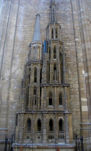 Leuven Mathieu de Layensplein zonder nummer maquette westbouw