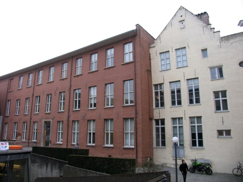 Leuven Naamsestraat 69-71 College van de Hoge Heuvel achtergevel