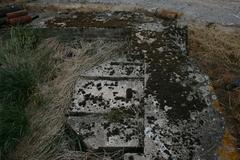 Duitse bunker met platform voor een Minenwerfer