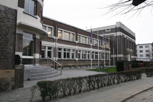 Antwerpen Berchemlei 115 kantoorgebouw voorgevel