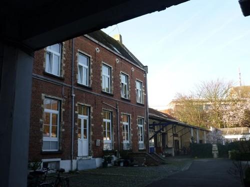 Leuven Vaartstraat 41-45 dwarsvleugel
