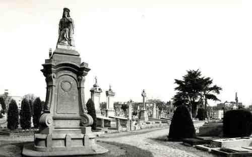 Antwerpen Elisabethlaan zonder nummer kerkhof