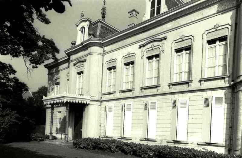 Kasteel berlaarhof erfgoedobjecten inventaris onroerend erfgoed - Hek begroeide ...