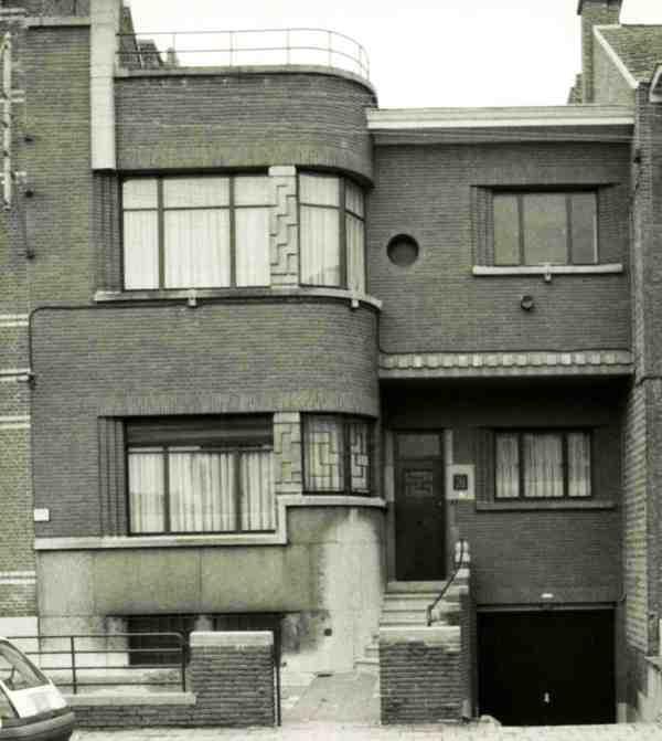 Woonhuis ontworpen door a verreyt erfgoedobjecten inventaris onroerend erfgoed - Deco buitenkant huis ...