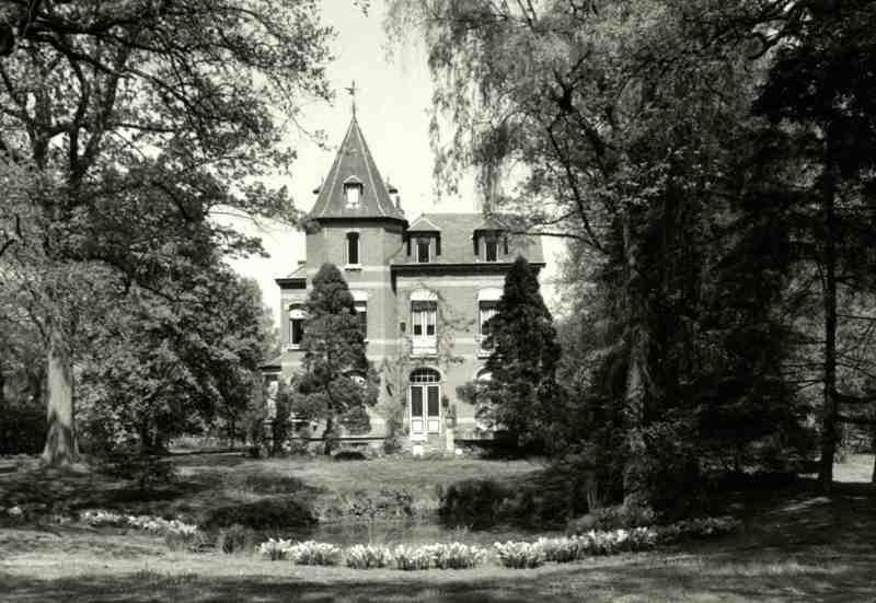 Eclectisch landhuis erfgoedobjecten inventaris onroerend erfgoed