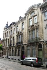 Vier burgerhuizen in  neorococo