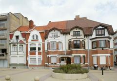 Ensemble van vier burgerhuizen