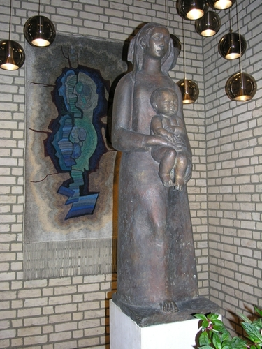 Antwerpen Canadalaan 105 Mariabeeld