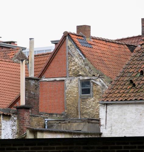Oudenaarde Bergstraat 6 Achtergevel