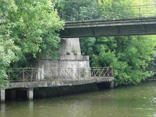 Ieper Barmstraat zonder nummer Spoorwegbrug