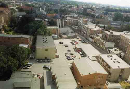 Leuven Ziekenhuissite, zicht naar zuiden