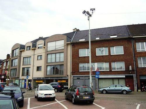 Antwerpen Kristus Koningplein straatbeeld