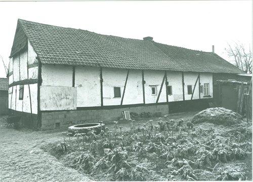 Diepenbeek Dautenstraat 89 achtergevel