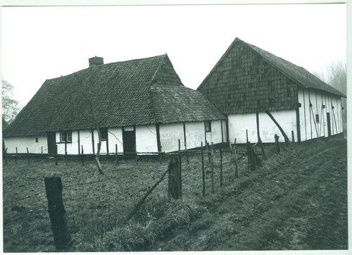 Diepenbeek Hoog Keizel 48-50  achtergevel woonhuis en stalling