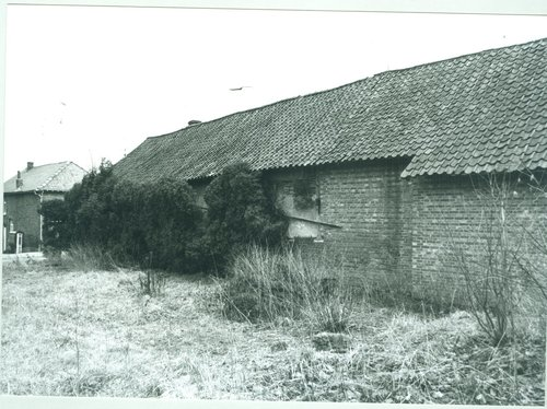 Diepenbeek Kapelstraat 87 achtergevel woonhuis