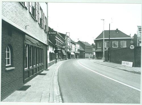 Diepenbeek Kapelstraat en Dorpsstraat