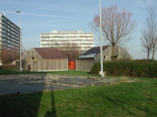 Sluisvlietstraat z.nr. watersportcentrum