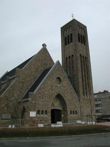 Lijsterbeslaan z.nr. parochiekerk