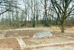 Reconstructie van de fundamenten van de Sint-Janskapel van Mulheim
