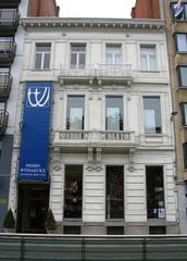 Herenhuis en kantoor van advocaat Victor Robyns