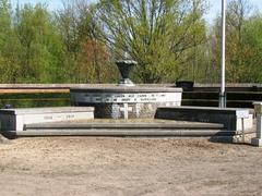 Oorlogsgedenkteken op de gemeentelijke begraafplaats