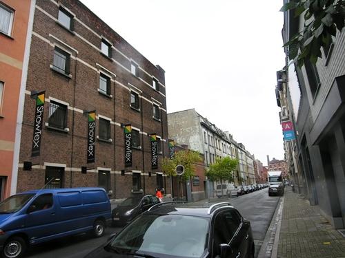 Antwerpen  Everaertstraat straatbeeld