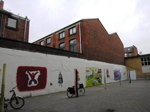 Antwerpen Everaertsstraat magazijnen